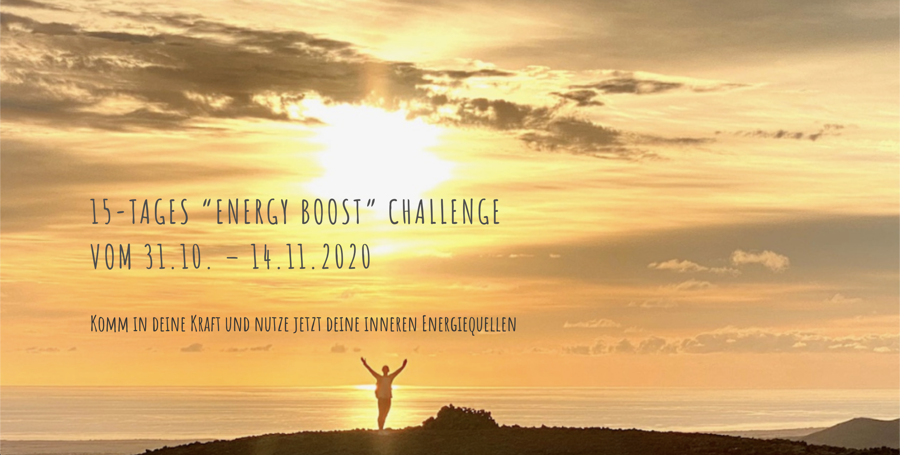 15-Tages ENERGY BOOST Challenge